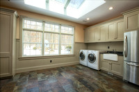 New Princeton laundry and mudroom