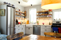Hopewell rustic kitchen